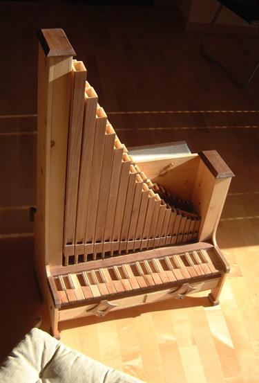 Scheda costruttori for L organo portativo